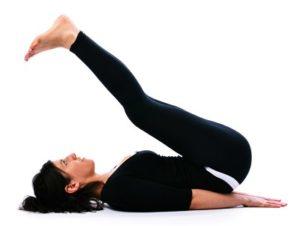 Разминка перед медитацией - поза плуга