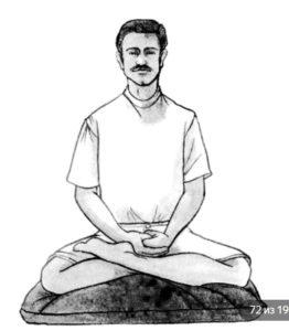 как правильно медитировать в позе лотоса
