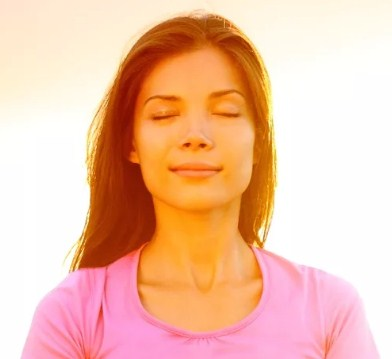 Легкая улыбка в медитации