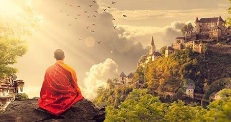 Поза для медитации для начинающих