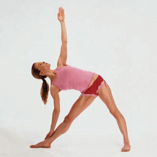 Йога для начинающих - поза теугольника