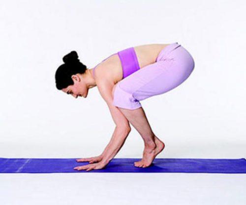Йога для начинающих - поза коровы