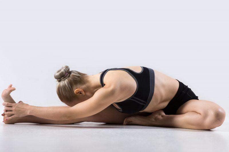 Поза йоги - Джану Ширшасана