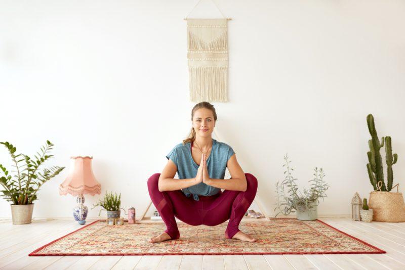 Маласана - поза в йоге