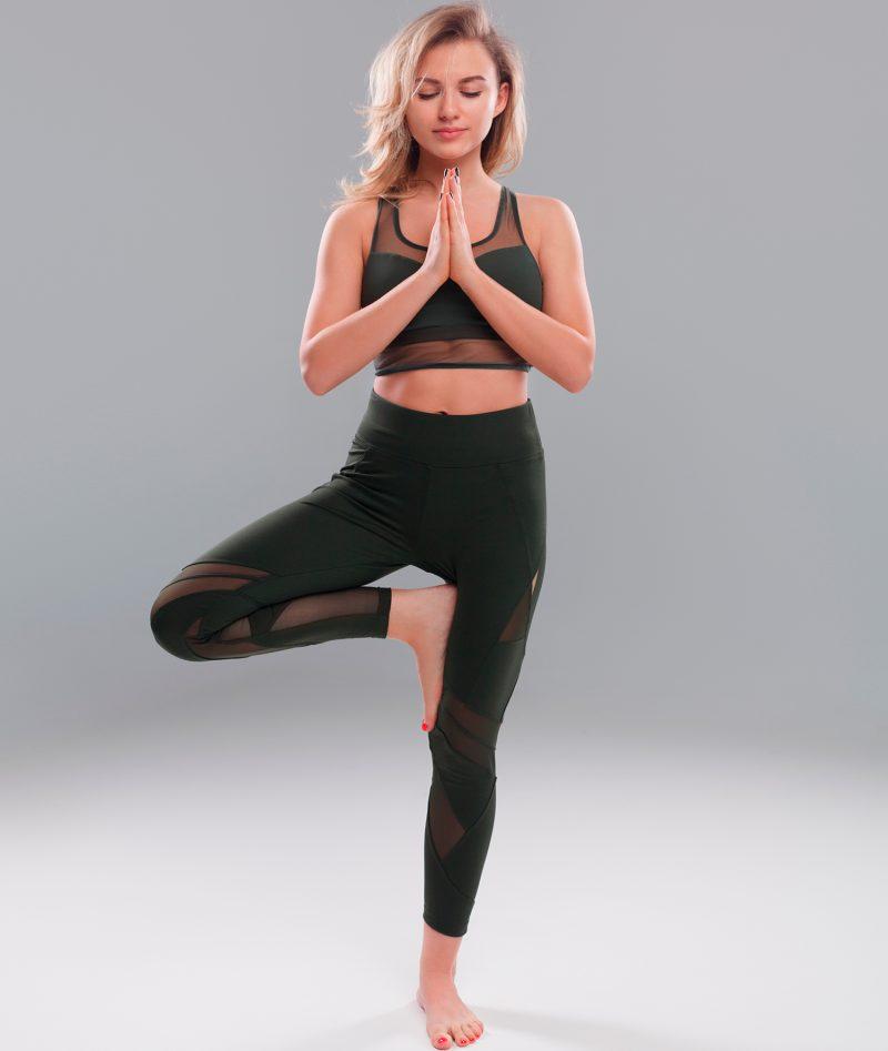 Поза йоги - врикшасана