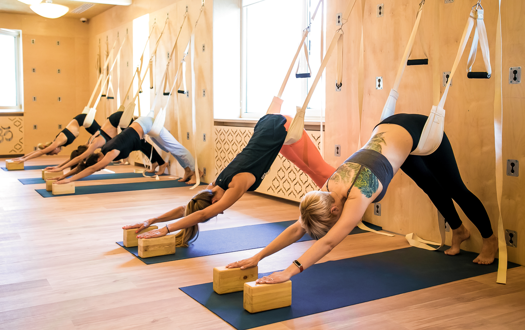 йога по методу Айенгара